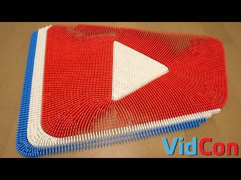 VidCon in 6,500 Dominoes!