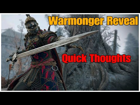 The Reveal Was Meh... || Dragon Talks #3: For Honor |