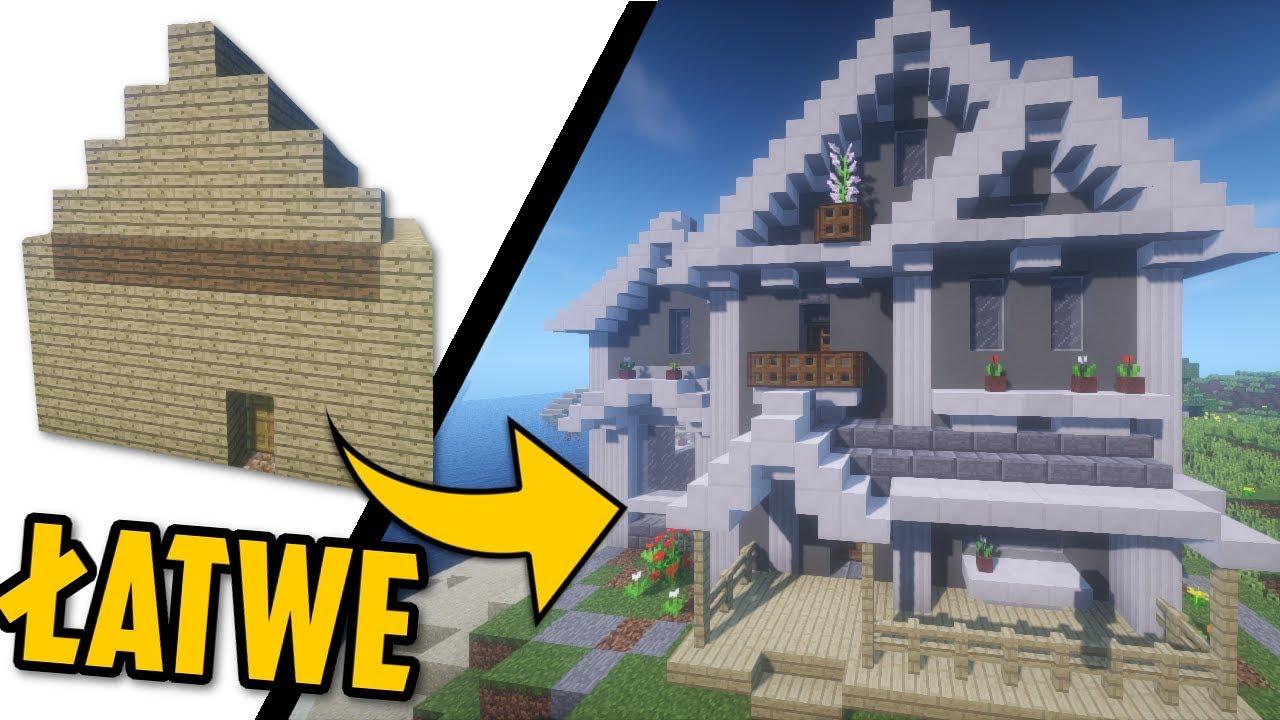 Jak Zbudowac Podmiejski Dom Minecraft Creativnie 33 Pawz