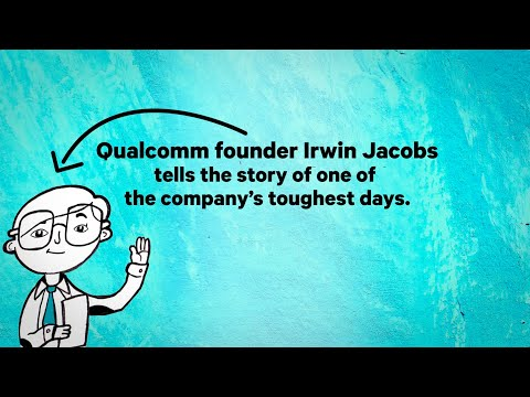 The Moment that Made Qualcomm, by Dr. Irwin Jacobs