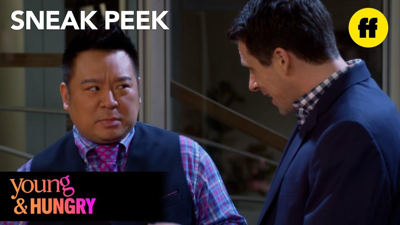 Download Young & Hungry   Season 5, Episode 2 Sneak Peek: Alan Gives Elliot a Present   Freeform