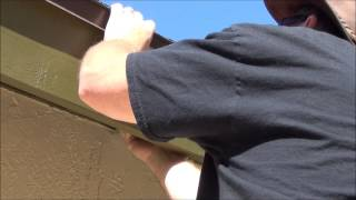 Shade sail rafter bracket installation by www.shazeebo.com