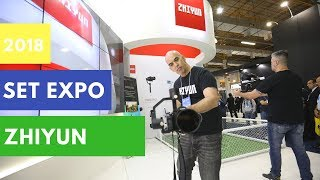When a Gimbal meets Brazil Football | SET Expo 2018 | Zhiyun Smooth 4 | Crane 2 | Crane Plus
