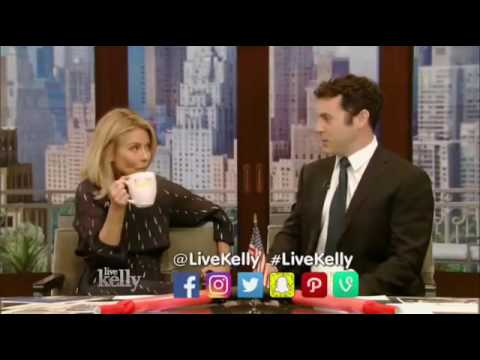LIVE with Kelly October 4, 2016    Justin Theroux, Lindsey Vonn
