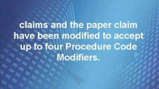 Radiology procedure code and modifiers