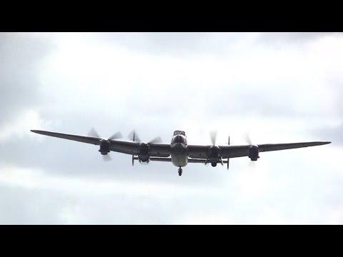 CWHM Lancaster Vera At Humberside Airport 27/08/14
