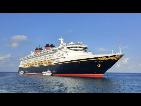 Disney Magic Cruise Day 3 - Tendering, Royal Palms & Pirate Night