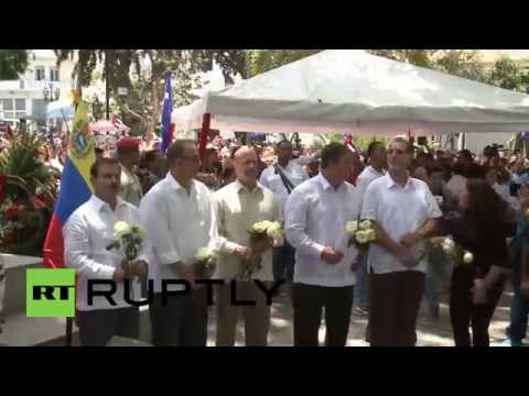 Venezuela: 'Cuban Five' receive honorary medals and keys to Caracas