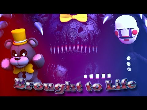 SFM FNaF Brought to Life Bring me to Life  Evanescence NIGHTCORE