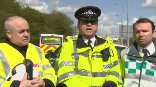 M62 Crash: Hen Party Minibus Collision (FULL VIDEO)