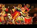 八戸三社大祭 2017年 後夜祭 (Hachinohe Sansha Taisai Festival in Japan)十一日町龍組 最優秀賞 「龍宮王女 乙姫と俵藤太