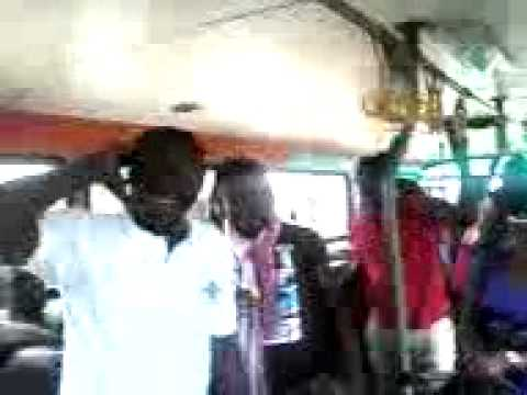 Morale and Jama by KNUST Unity Hall boys in Metro Mass Bus