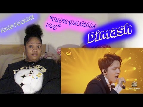 Dimash- Unforgettable Day Reaction Amazing