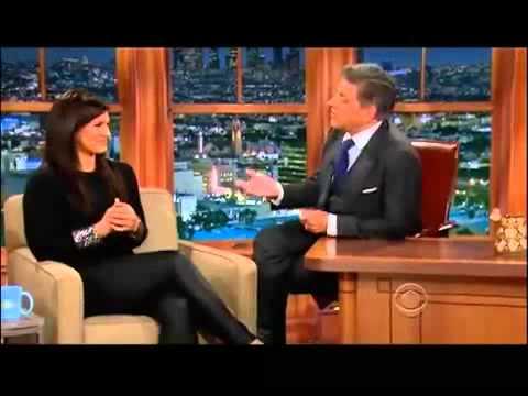 Craig Ferguson 4 7 14E Late Late Show Gina Carano