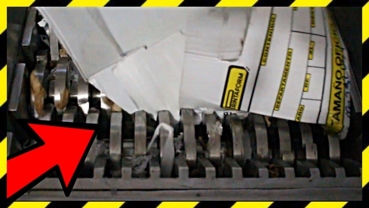 LA TRITURADORA triturando basura | shredding garbage ¡excellent video! 2020