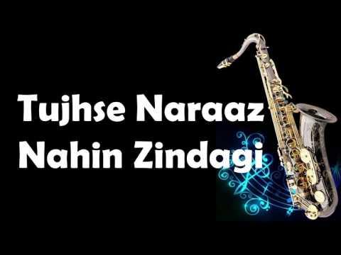 #105:-Tujhse Naaraz Nahin Zindagi-Masoom-Instrumental On Saxophone