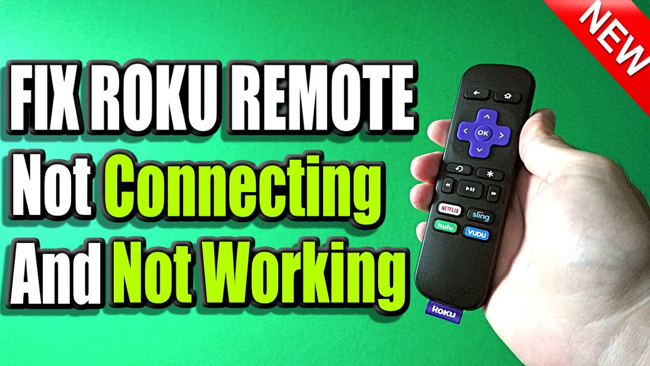 22 Ways to Fix Roku Remote Not Working or Not Connecting (Easy Method)