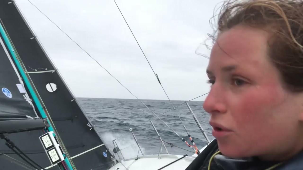 ✨ Première vidéo du bord / Bretagne-CMB Océane sur la Transat en Double  ✨