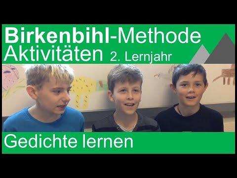 Birkenbihl Methode Gedicht 4 Klasse 2 Englisch Lernjahr