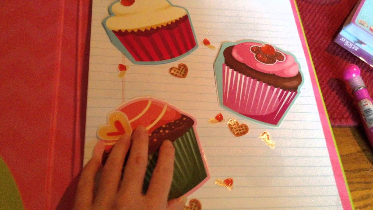 decorating my recipe book - youtube