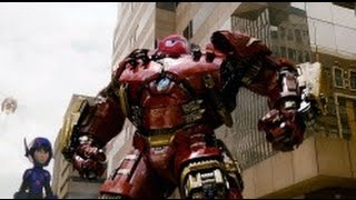 Big hero 6 Trailer - Avengers Age of Ultron Parody