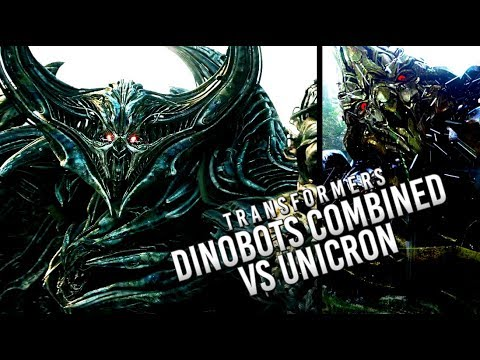 Transformers: Dinobot Combined vs Unicron for Transformers 6!?!