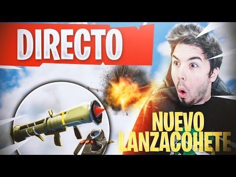 JUGANDO con *NUEVO* MISIL TELEDIRIGIDO en DIRECTO   Fortnite: Battle Royale