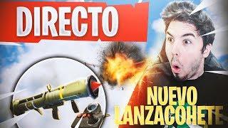 JUGANDO con *NUEVO* MISIL TELEDIRIGIDO en DIRECTO | Fortnite: Battle Royale