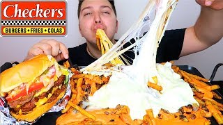 CHECKERS ANIMAL STYLE FRIES • Mukbang & Recipe