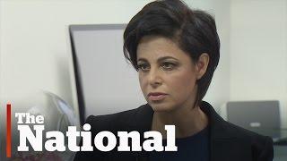 Jian Ghomeshi's lawyer, Marie Henein, speaks to Peter Mansbridge