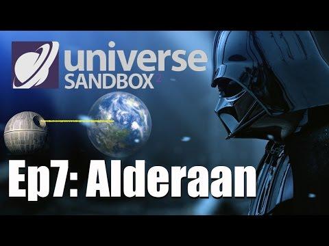 EPISODE 7: Alderaan - Star Wars in Universe Sandbox 2