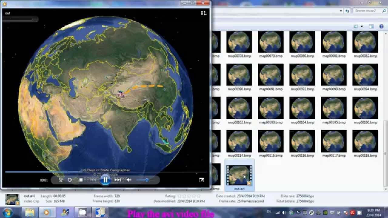 How To make travel route using freeware Route Generator – Travel Map Generator
