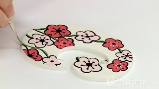 Baixar How to Paint Cherry Blossoms on Wood Letters