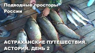 Астраханские путешествия Астория День II Охота на щуку сазана Подводные просторы России