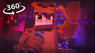 360° Five Nights At Freddy's - SHADOW FREDDY VISION - Minecraft 360° VR Video