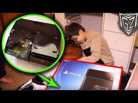 FAKE PS4 Christmas Present PRANK GONE WRONG
