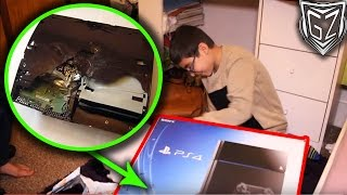 FAKE PS4 Christmas Present (PRANK GONE WRONG)