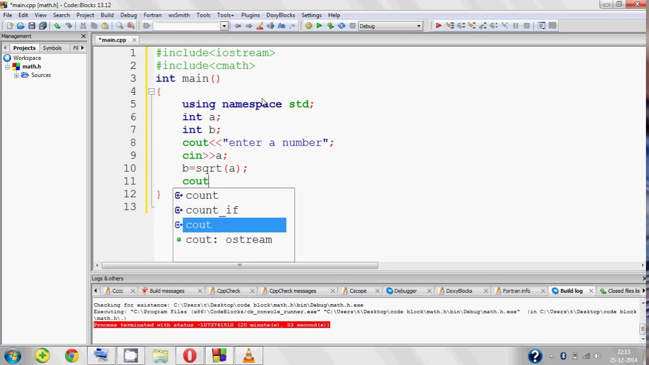 C program to find square root of a number youtube c program to find square root of a number buycottarizona Images