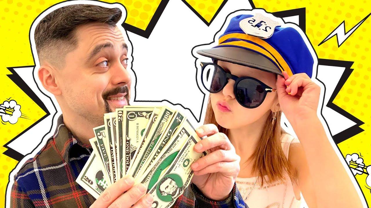 Нашли Миллион! Папа нашёл деньги и скрывает это от Амельки и Мамы! На что он потратит находку?