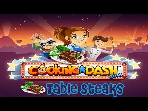 Cooking Dash 2016: Table Steaks Season 1