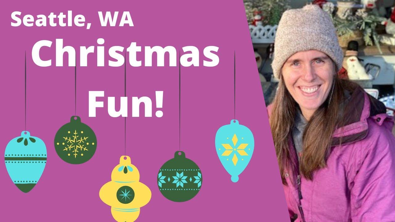 Fun Christmas Activities In Seattle, Washington - Swanson's Nursery In Ballard Neighborhood Seattle