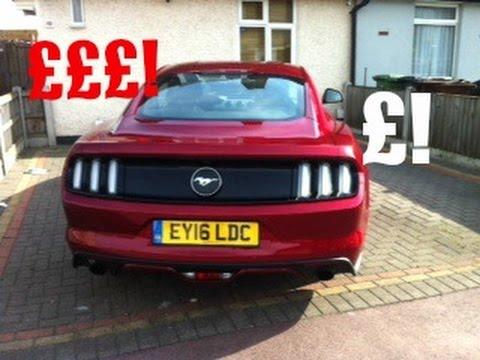 Mustang Running Costs!