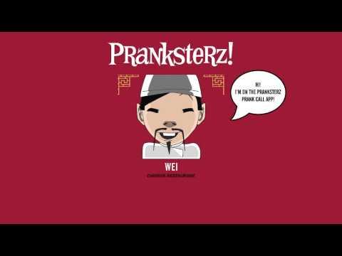 Pranksterz App! Wei prank calls a rehearsal studio in Sydney