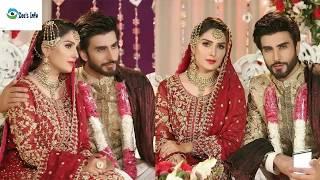 Ayeza Khan and Imran Abbas at Drama Koi Chand Rakh Mere Sham Par Latest Tv Drama