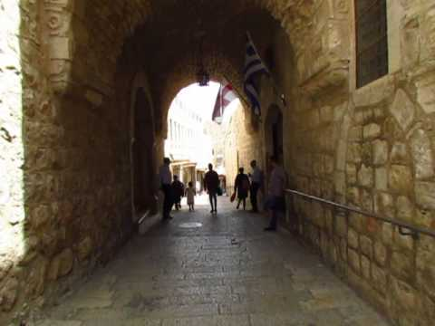 Bells Ringing in Jerusalem - Christian Quarter