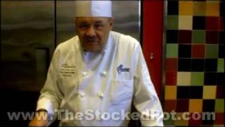 Preparing Rice Pilaf With Chef Don Mcmillan-the Stocked Pot Cooking School Winston Salem