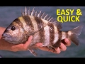 HOW TO COOK SHEEPSHEAD