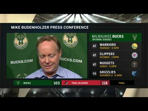 "Mike Budenholzer: ""One of those nights where we couldn't get over the hump"""