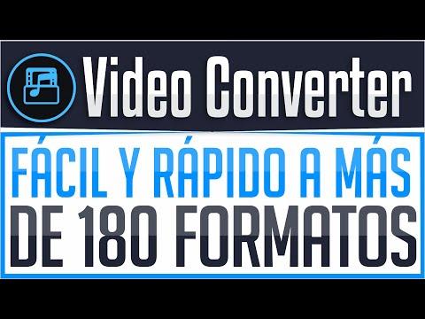 Convertidor de Vídeos Ultra Rápido con ¡Más de 180 formatos! - Movavi Video Converter