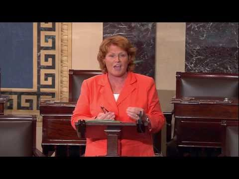 Senator Heitkamp Discusses Keystone Pipeline on Senate Floor